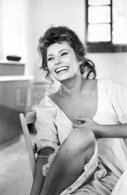 """Alfred Eisenstaedt, 'Sophia Loren in """"Madame""""', 1961, Photography, Silver Gelatin Print, Contessa Gallery"""