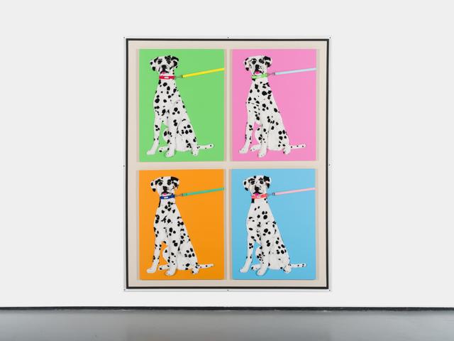 Michael Shultis, '4 Purebred Dalmatians', 2019, PM/AM