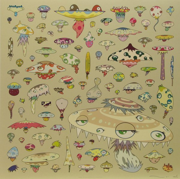 Takashi Murakami Champignon 2006 Available For Sale
