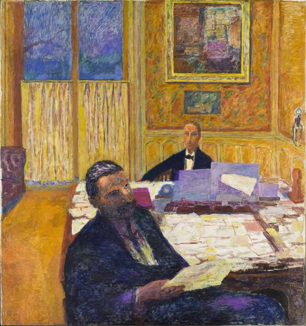 , 'Les Frères Bernheim - Jeune [Josse Bernheim-Jeune et Gaston Bernheim de Villers] (The Bernheim-Jeune Brothers),' 1920, Musée d'Orsay