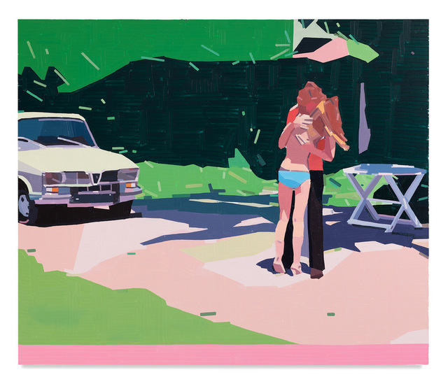Guy Yanai, 'Claire and Her Boyfriend', 2021, Painting, Oil on canvas, Miles McEnery Gallery