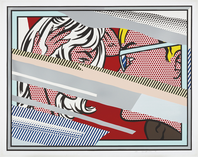 Roy Lichtenstein, 'Reflections on Conversation, from Reflections Series', 1990, Phillips