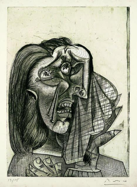 Pablo Picasso, 'La femme qui pleure I (Weeping Woman I)', 1937, Fondation Beyeler