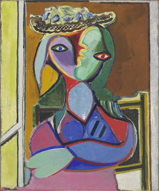 Pablo Picasso, 'Femme assise (Marie-Thérèse)', 1936, Painting, Oil on canvas, Yale University Art Gallery