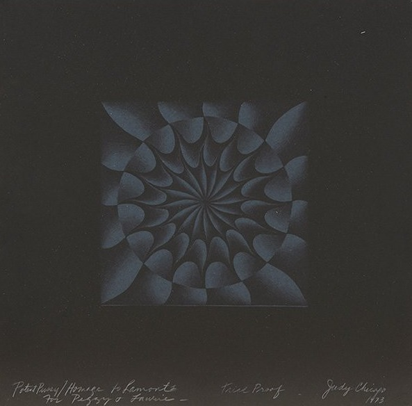 Judy Chicago, 'Potent Pussy/ Homage to Lamont', 1973, Caviar20