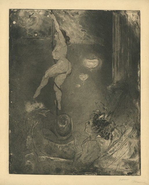 , '[Acrobate au Cabaret, Ambiance],' ca. 1890, Armstrong Fine Art