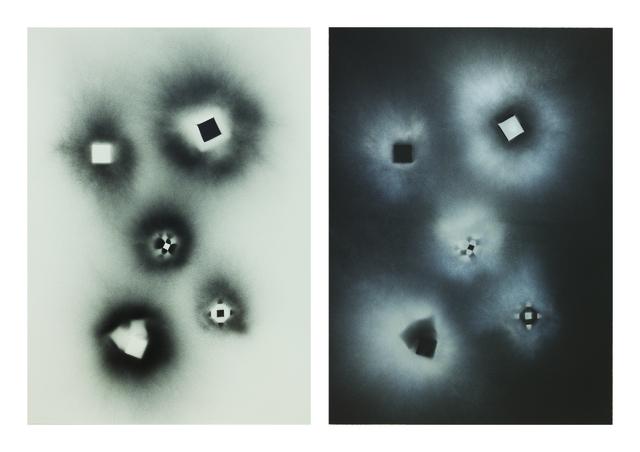 , 'Non-Foldings - Cosmic Explosion #3,' 2012, STPI
