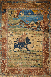 Indian Pictorial Carpet