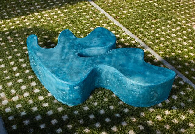 , 'Concrete Sculpture, blue-green,' 2019, Kayne Griffin Corcoran