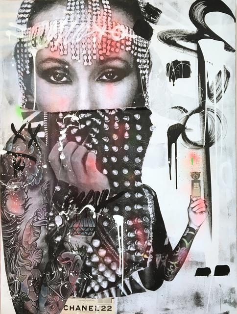 Stikki Peaches, 'Iman Chanel N°22', 2019, NextStreet Gallery