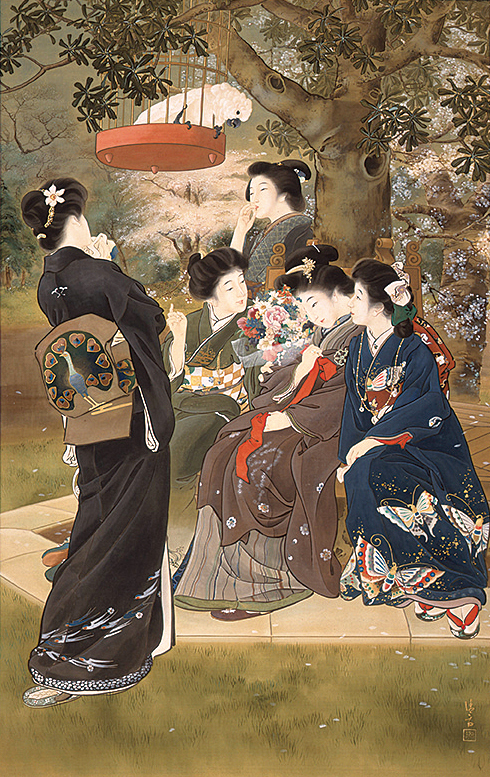 Kiyokata Kaburaki / The Bride-to-be / 1907 / Collection of the Kamakura City Kaburaki Kiyokata Memorial Art Museum / *to be exhibited from May 20, 2017