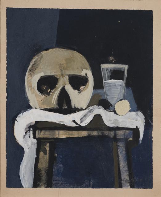 , 'Still Life with Skull,' ca. 1953, Osborne Samuel