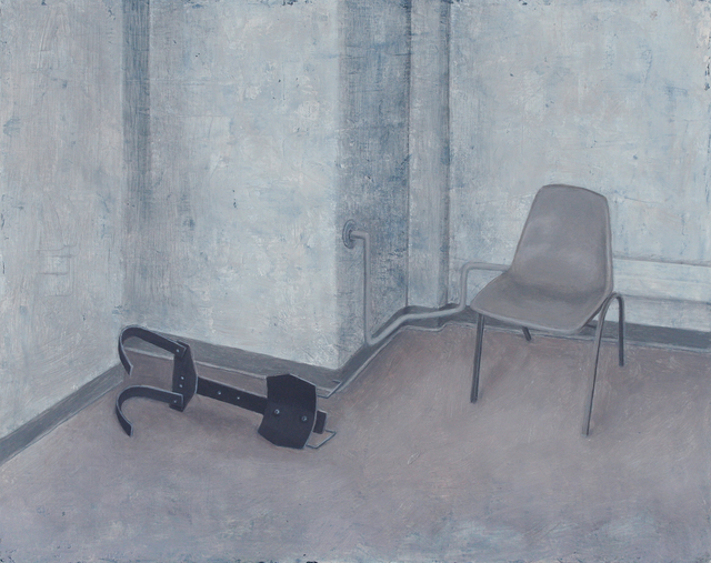 , 'Corner with Chair,' 2015, C. Grimaldis Gallery