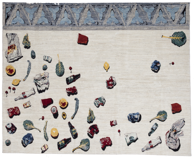 , 'Unswept Rug,' 2014, Hammer Museum