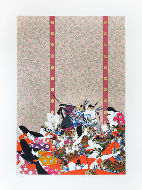 Hideo Takeda, 'Kiso Yoshinaka Entering the Capital ', 1985-1999, Ronin Gallery