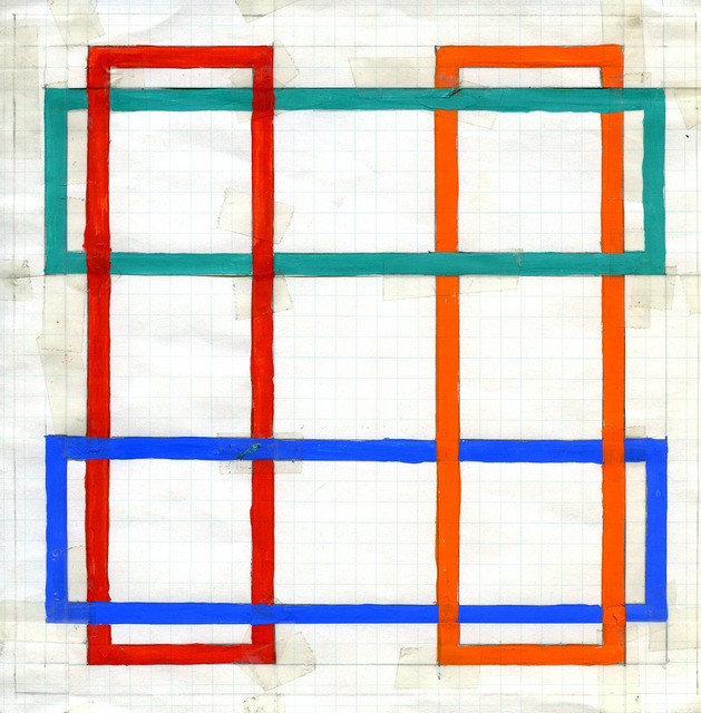 , 'Translumina – Study for Transparent Square,' 1987, David Richard Gallery