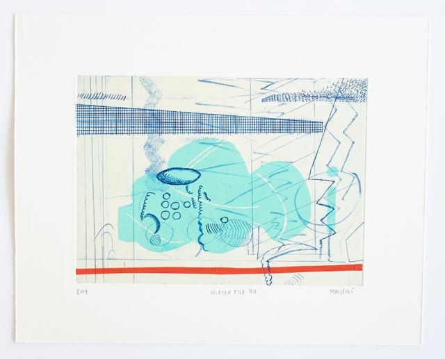 , 'Winter File 39,' 2019, David Krut Projects