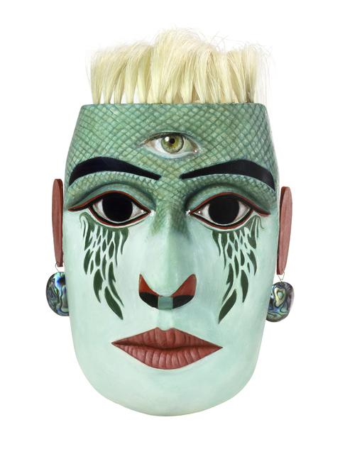 , 'Metamorphosis/Tlayilela Mask,' 2017, Fazakas Gallery