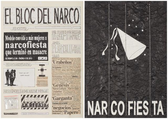 , 'El Bloc Del Narco #16,' 2016, Steve Turner