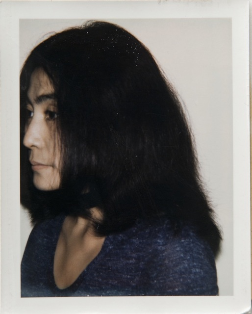 Andy Warhol, 'Andy Warhol, Polaroid Portrait of Yoko Ono', ca. 1971, Hedges Projects
