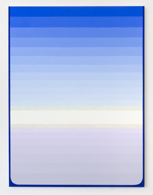 , 'Blue Hold,' 2018, Morgan Lehman Gallery