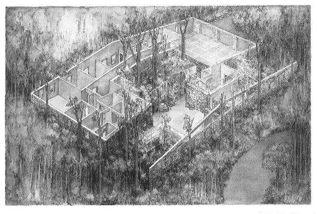 , 'Bedford House,' 1982, Rhona Hoffman Gallery