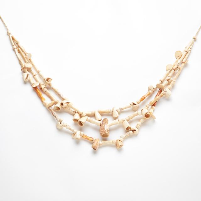 , 'Guererro Triple-Strand Shell Necklace,' c. 800 -1200 AD, Stuart & Co. Gallery