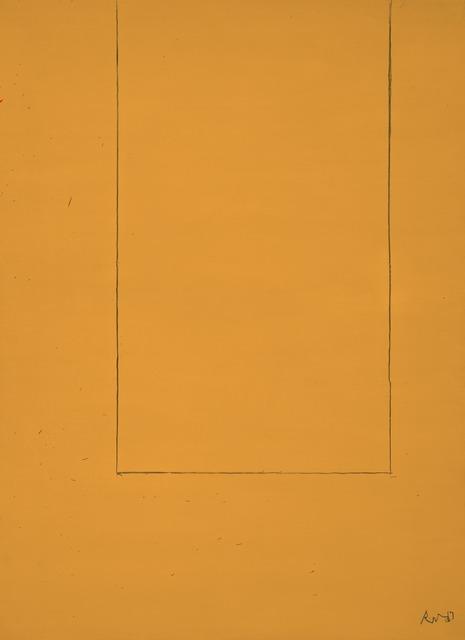 Robert Motherwell, 'Open No. 1: In Yellow Ochre', 1967, Dedalus Foundation