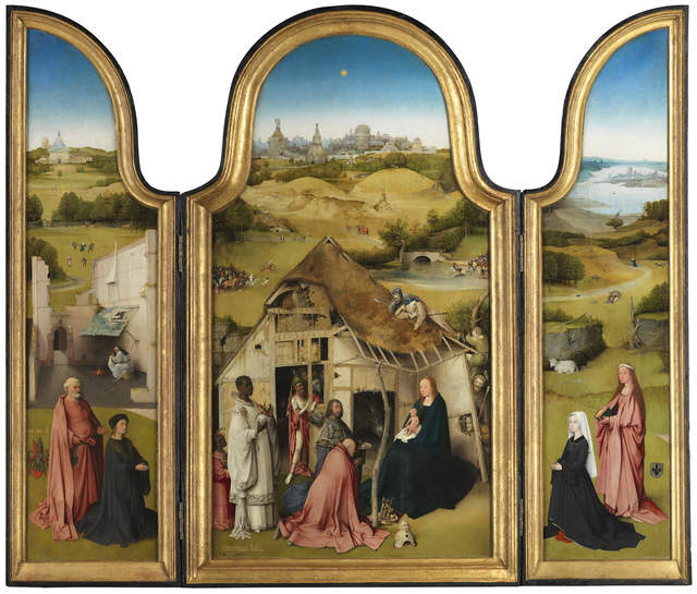 , 'The Adoration of the Magi Triptych ,' 1494, Museo Nacional del Prado