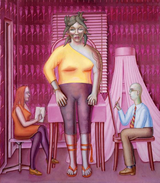, 'La séance de portrait / Die Porträtsitzung,' 2015, Galerie Lelong & Co.