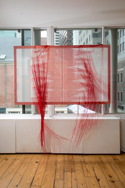 , 'Red Rain,' 2014, LMAKgallery