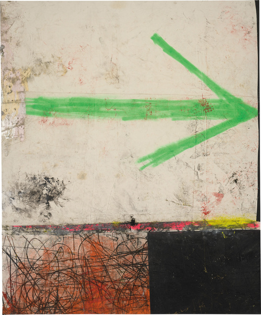 Oscar Murillo (b. 1986), 'Contemporary Takeaway #2', 2012, Painting, Dirt, oil, cement dye and oilstick on canvas, Phillips