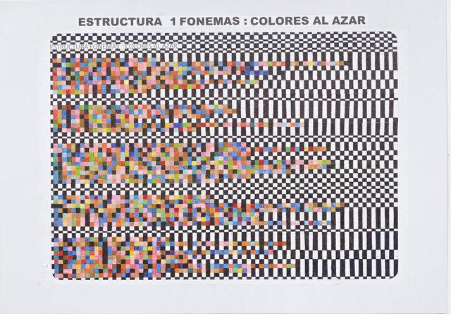 Teresa Burga, 'Borges', 1974-2017, S.M.A.K. Museum of Contemporary Art