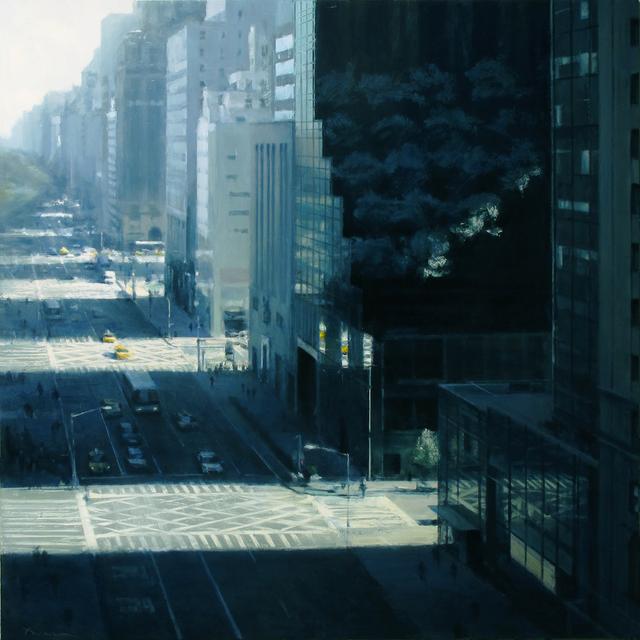 Ben Aronson, 'Sping Morning, Fifth Avenue ', 2014, Jenkins Johnson Gallery
