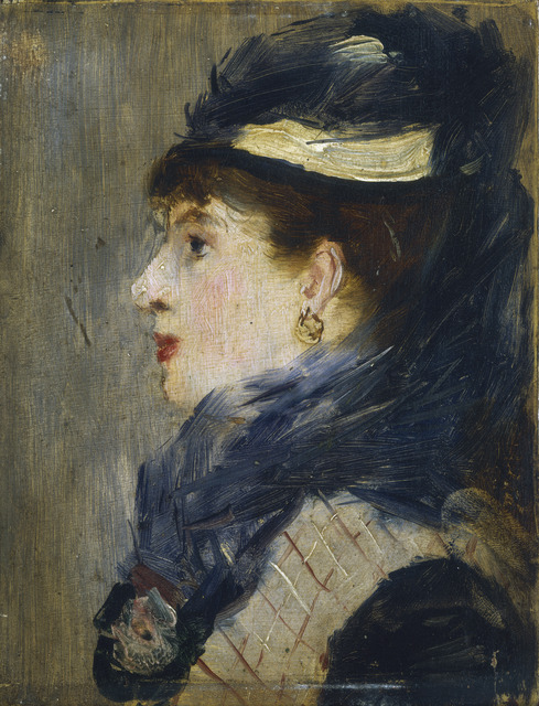 Édouard Manet, 'Portrait of a Lady', ca. 1879, National Gallery of Art, Washington, D.C.