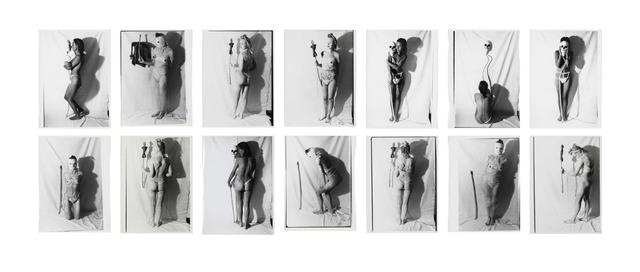 """, '""""Totentanz mit Mädchen"""" / """"Death Dance with Maiden"""",' 1979-1980, Galerie Hubert Winter"""