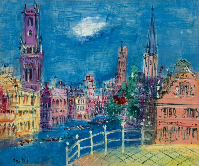 , 'Bruges,' ca. 1950, Willow Gallery