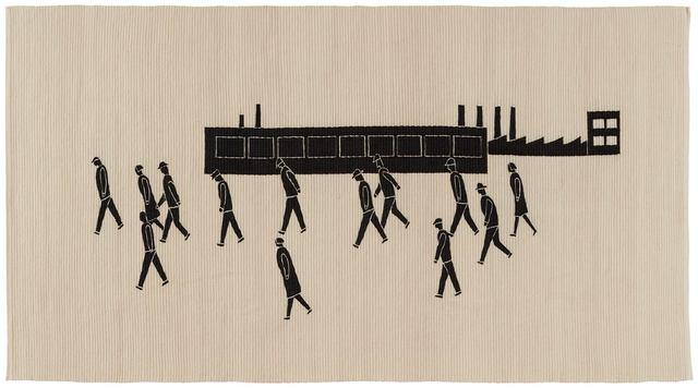 , 'Weg zur Arbeit (Camino a casa),' 2015, Pilar Serra