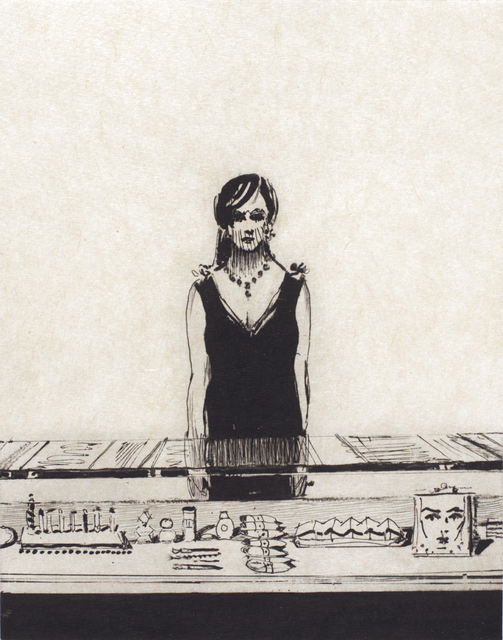 , 'Counter Woman,' 2015, Crown Point Press