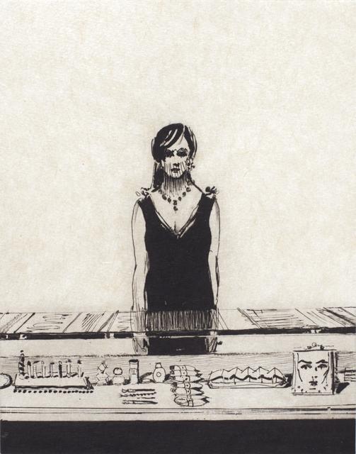, 'Counter Woman,' 2015, Crown Point Press
