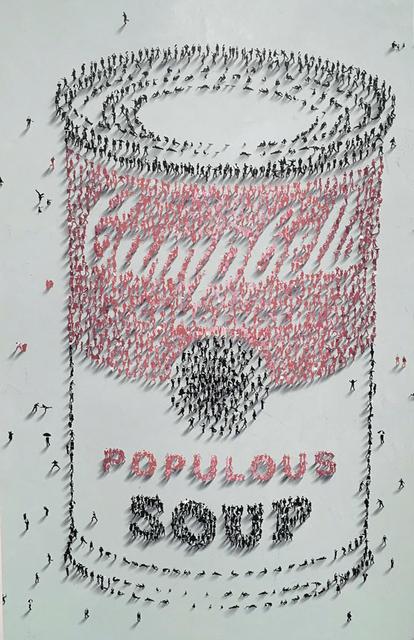 Craig Alan, 'Populous Soup', 2018, Contessa Gallery