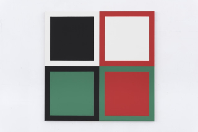, 'Act (Green, Red),' 2015, Slewe Gallery