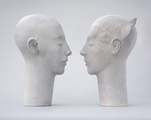 Glenys Barton, 'Toni Angel Heads ', 2006, Flowers