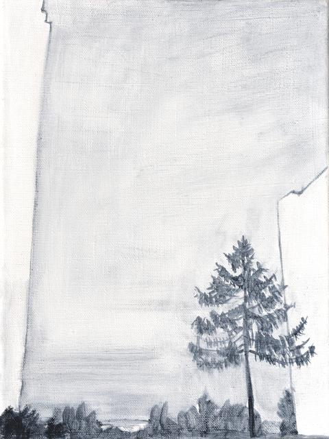 Milda Gailiūtė, 'Sleeping District', 2018, Painting, Oil on canvas, Meno parkas