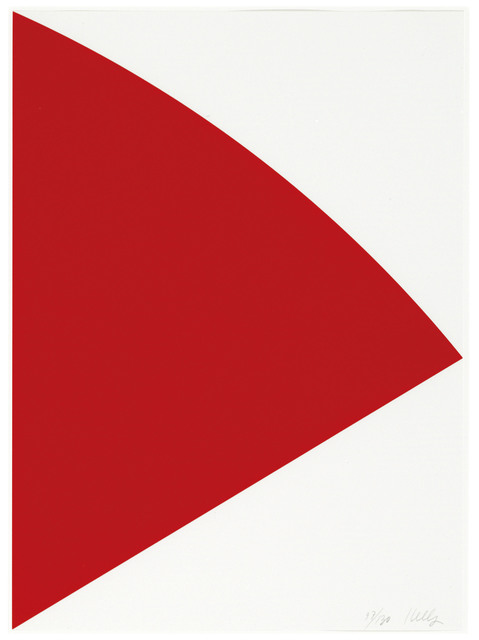Ellsworth Kelly, 'Red Curve (for Joel)', 1993, Christie's