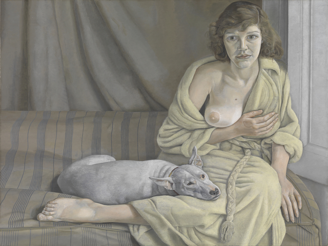 , 'Girl with a White Dog,' 1950-1951, J. Paul Getty Museum