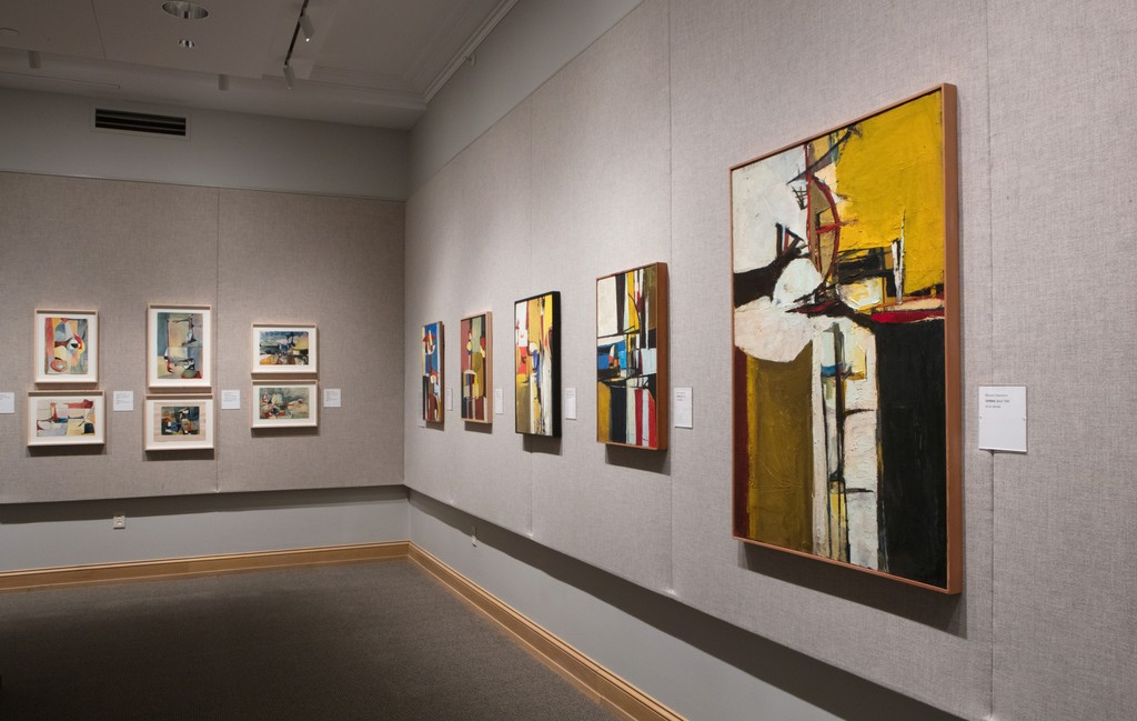 An installation view of the exhibition at the David Owsley Museum of Art, Ball State University, Muncie, Indiana, February 1 – May 20, 2018