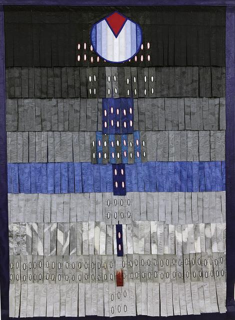 , 'Composition gris bleu au bec rouge,' 2018, Primo Marella Gallery