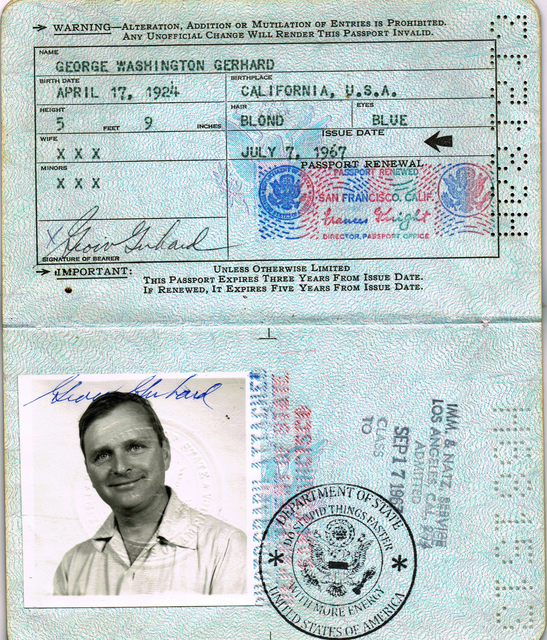 , 'American Passport,' 2010, The Moving Museum