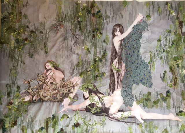 , 'Mythology: Bishin (Graces),' 2019, Arario Gallery